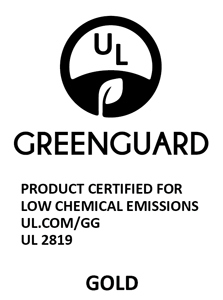 GREENGUARD (white) logo