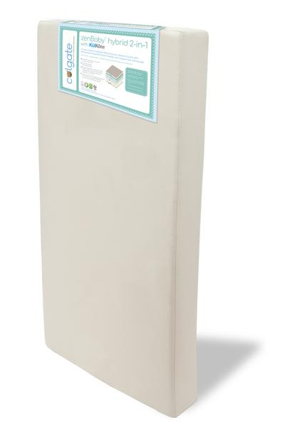 Image of the zenBaby 2-n-1 Hybrid Crib Mattress by Colgate Mattress